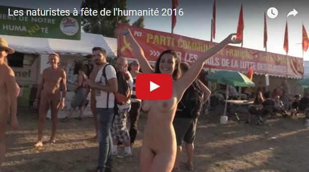 Les naturistes à la fête de l'Humanité 2016