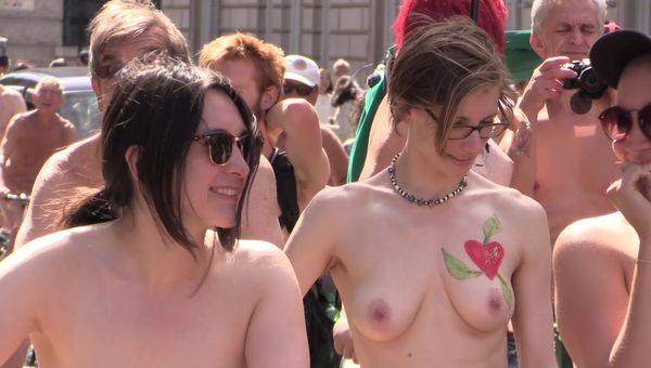 WNBR World Naked Bike Ride London 10 june 2017
